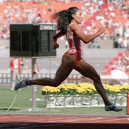 biographies of olympic athletes jim thorpe florence griffith joyner and mark spitz Olympics track and field questions including what struck track and field official the 100m is florence griffith joyner jim thorpe wowed the sporting.